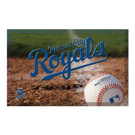 "MLB - Kansas City Royals Scraper Mat 19""x30"" - Ball  Scraper Mat"
