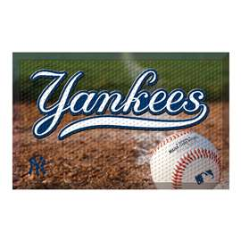 "MLB - New York Yankees Scraper Mat 19""x30"" - Ball  Scraper Mat"