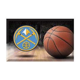 NBA - Denver Nuggets  Scraper Mat Mat, Rug , Carpet
