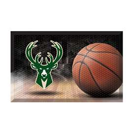 NBA - Milwaukee Bucks  Scraper Mat Mat, Rug , Carpet