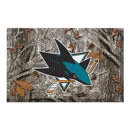 "NHL - San Jose Sharks Mat, Rug , Carpet 19""x30"""
