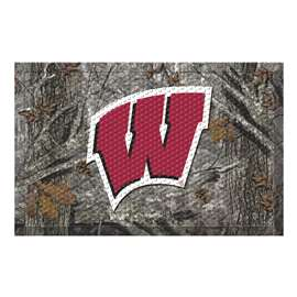 University of Wisconsin  Scraper Mat Mat, Rug , Carpet