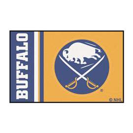 "NHL - Buffalo Sabres Mat, Rug , Carpet 19""x30"""