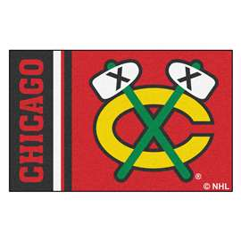 "NHL - Chicago Blackhawks Mat, Rug , Carpet 19""x30"""