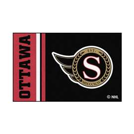 "NHL - Ottawa Senators Mat, Rug , Carpet 19""x30"""