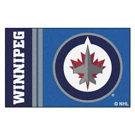 "NHL - Winnipeg Jets Mat, Rug , Carpet 19""x30"""