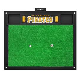 "Pittsburgh Pirates Golf Hitting Mat 20"" x 17""  Golf Hitting Mat"