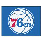 NBA - Philadelphia 76ers  All Star Mat Rug Carpet Mats