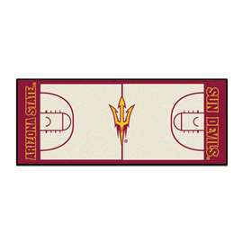 Arizona State University  NCAA Basketball Runner Mat, Carpet, Rug