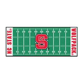North Carolina State University  Football Field Runner Mat Rug Carpet