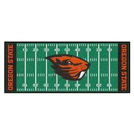 Oregon State University  Football Field Runner Mat Rug Carpet