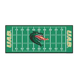 University of Alabama - Birmingham  Football Field Runner Mat Rug Carpet