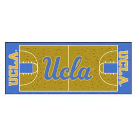 University of California - Los Angeles (UCLA)  NCAA Basketball Runner Mat, Carpet, Rug