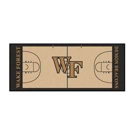 Wake Forest University  NCAA Basketball Runner Mat, Carpet, Rug
