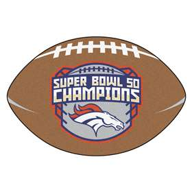 NFL - Denver Broncos Super Bowl 50 Champions  Football Mat