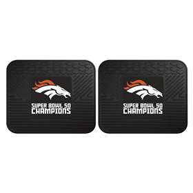 NFL - Denver Broncos Super Bowl 50 Champions  2-pc Utility Mat Set