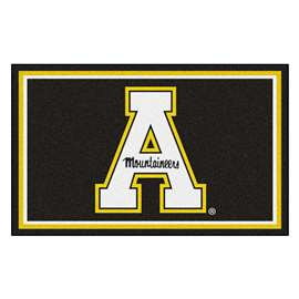 Appalachian State University 4x6 Rug Plush Rugs
