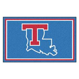 Louisiana Tech University 4x6 Rug Plush Rugs