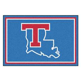 Louisiana Tech University 5x8 Rug Plush Rugs