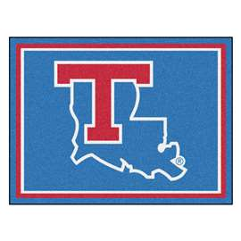 Louisiana Tech University 8x10 Rug Plush Rugs
