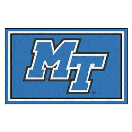 Middle Tennessee State University 4x6 Rug Plush Rugs