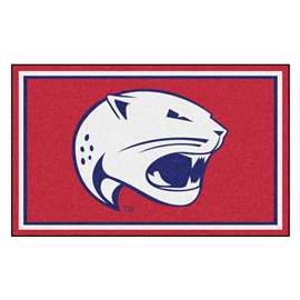 University of South Alabama 4x6 Rug Plush Rugs