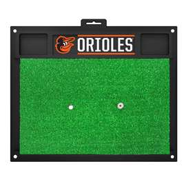 "MLB - Baltimore Orioles Golf Hitting Mat 20"" x 17""  Golf Hitting Mat"