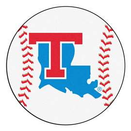 Louisiana Tech University  Baseball Mat Rug Carpet Mats