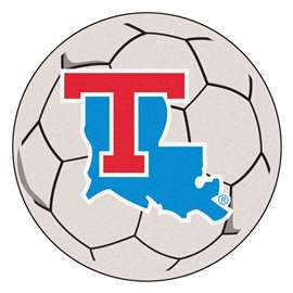 Louisiana Tech University  Soccer Ball Mat, Rug , Carpet
