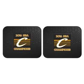 "Cleveland Cavaliers 2016 NBA Finals Champions 2 Utility Mats 14""x18"""