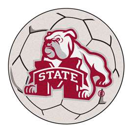 Mississippi State University  Soccer Ball Mat, Rug , Carpet