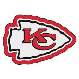 NFL - Kansas City Chiefs Mascot Mat Custom Shape Rugs