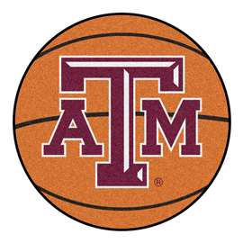 Texas A&M University   Basketball Mat Rug Carpet Mats