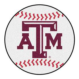 Texas A&M University   Baseball Mat Rug Carpet Mats