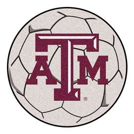 Texas A&M University   Soccer Ball Mat, Rug , Carpet