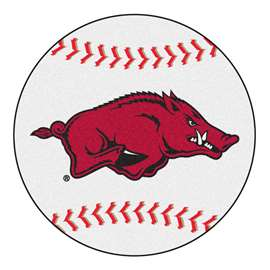University of Arkansas  Baseball Mat Rug Carpet Mats