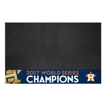 Houston Astros 2017 World Series Champions Grill Mat