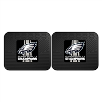 "Philadelphia Eagles Super Bowl LII 52 Champions 2-piece Utility Mat Set 14""x17"""