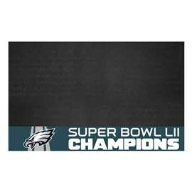 "Philadelphia Eagles Super Bowl LII 52 Champions Grill Mat 26""x42"""