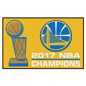 "Golden State Warriors 2017 NBA Finals Champions Starter Rug 19""x30"""