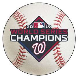 Washington Nationals  2019 World Series Champions Baseball Mat Ball Mats