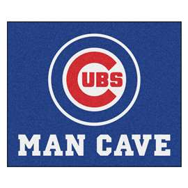 MLB - Chicago Cubs Man Cave Tailgater Rectangular Mats