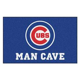 MLB - Chicago Cubs Man Cave Ultimat Rectangular Mats