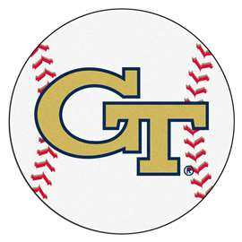 Georgia Tech  Baseball Mat Rug Carpet Mats