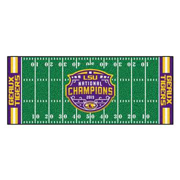 "Louisiana State University LSU Tigers Football Field Runner 30""x72"""