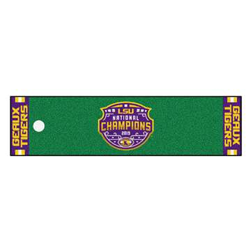 "Louisiana State University LSU Tigers Putting Green Mat 18""x72"""