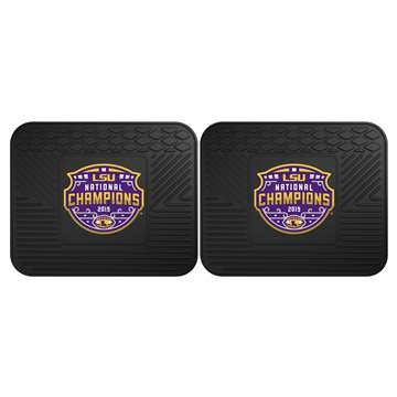 "Louisiana State University LSU Tigers 2 Utility Mats 14""x17"""