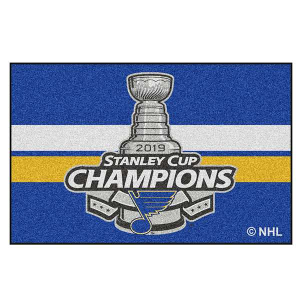 St. Louis Blues 2019 NHL Stanley Cup Champions Starter Mat