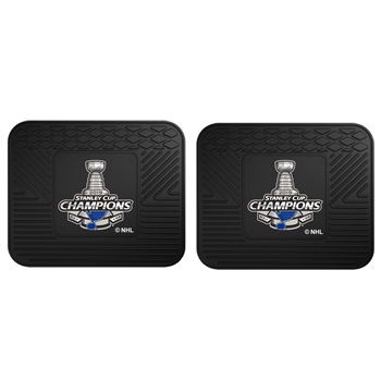 St. Louis Blues 2019 NHL Stanley Cup Champions 2 Utility Mats