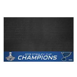 St. Louis Blues 2019 NHL Stanley Cup Champions Grill Mat